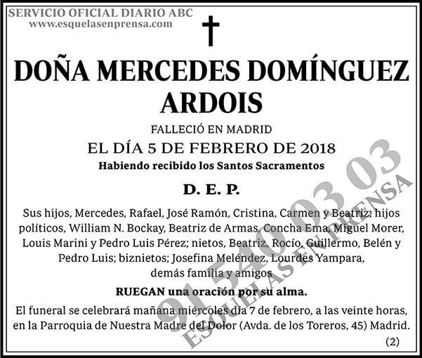 Mercedes Domínguez Ardois